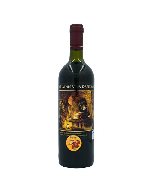 sausais jāņogu vīns