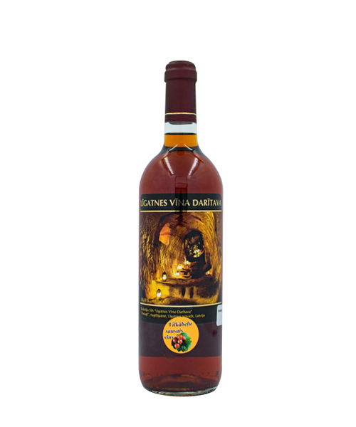 vilkābeles sausais vīns
