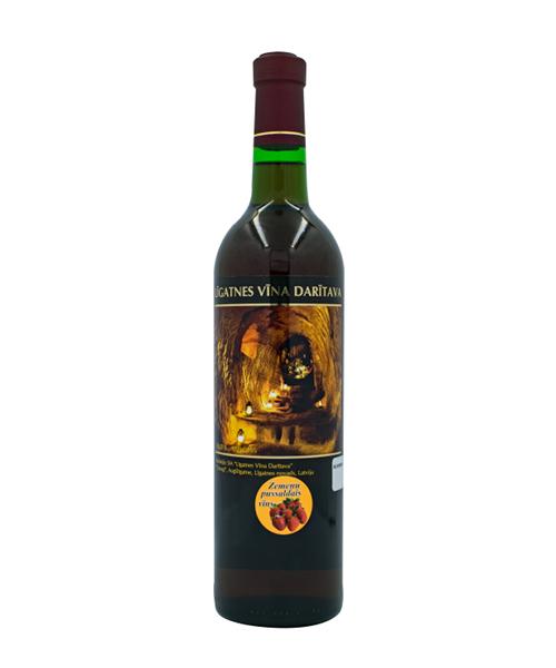 zemeņu vīns