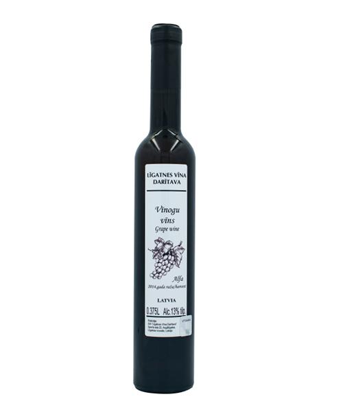 vīnogu vīns alfa