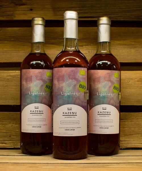 Pussaldais vīns