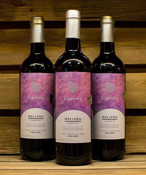melleņu pussaldais vīns 3