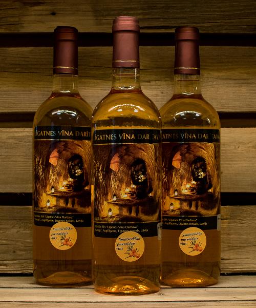 Smiltsērkšķu pussaldais vīns 3