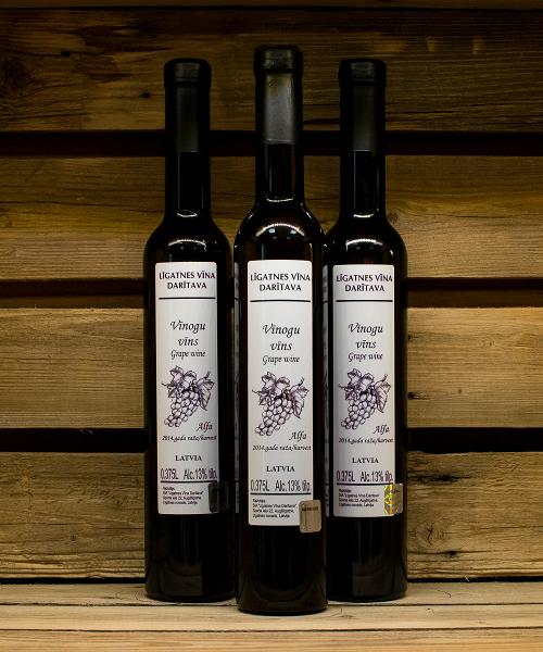vīnogu vīns alfa 3