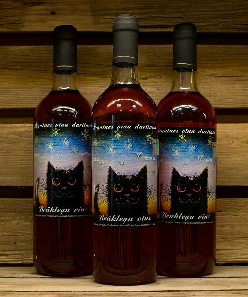 bruklenu vins ar kaki plaukta